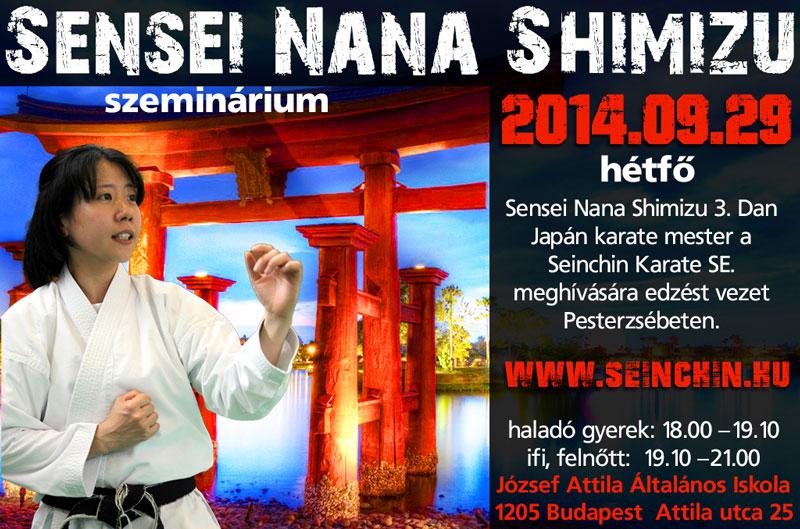 Nana Shimizu plakát